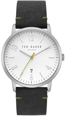 Ted Baker Men's Daniel Synthetic Strap Watch, 42mm