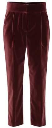 Brunello Cucinelli Velvet cotton pants