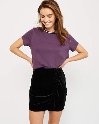 Abercrombie & Fitch Tipped Short-Sleeve Tee
