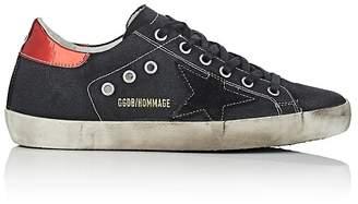Golden Goose Women's Superstar Canvas Sneakers $655 thestylecure.com