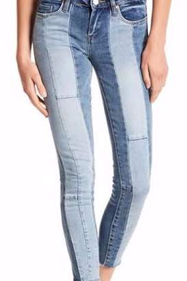 Blank NYC Blanknyc BlankNYC The Reade Multi-Color Cropped Skinny Jeans