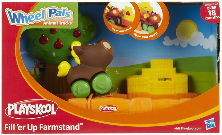 Playskool Wheel Pals Fill up Farmstand