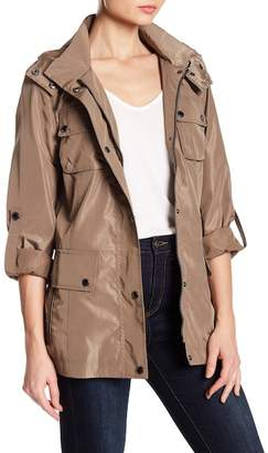 BCBGeneration Buckle Belt Trench Coat