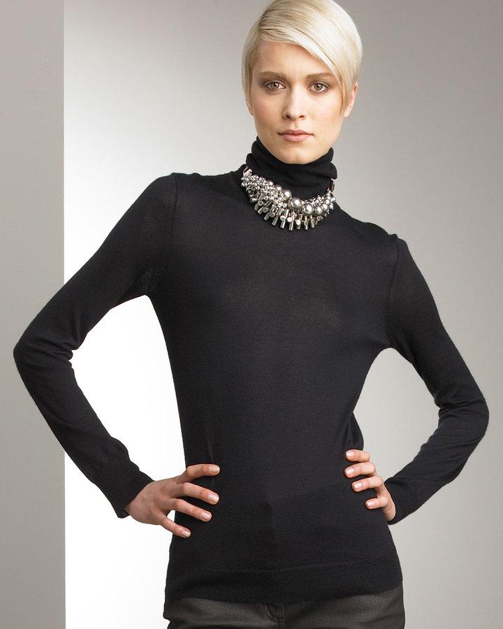 Donna Karan Collection Basic Turtleneck