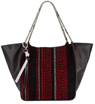 Proenza Schouler Extra-Large Mixed Woven Tote Bag