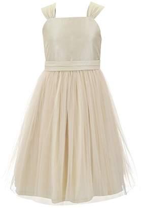 Emma Riley Girls' Tulle Skirt Dress with Sash