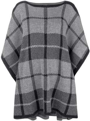 Woolrich checked tabard sweater