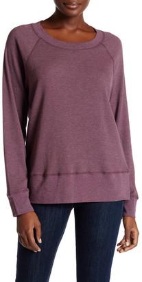 Allen Allen Thermal Knit Tee $74 thestylecure.com