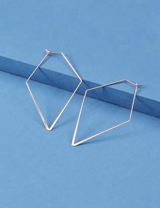 Lane Bryant Angular Wire Hoop Earrings