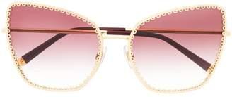 Dolce & Gabbana Eyewear oversized cat-eye sunglasses