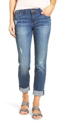 Women's Kut From The Kloth Catherine Roll Cuff Boyfriend Jeans $89 thestylecure.com