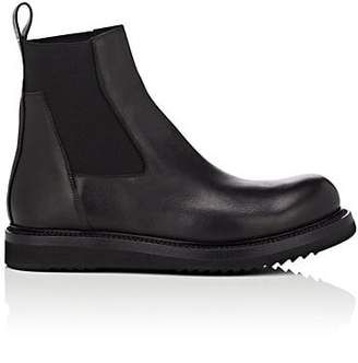 Rick Owens Men's Leather Chelsea Boots - Black