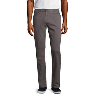 U.S. Polo Assn. USPA Slim Fit Stretch Flat Front Pants