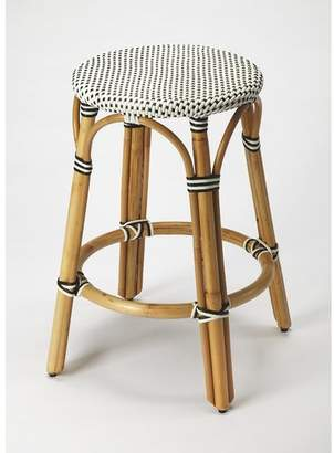 "Beachcrest Home Campbellton County Coastal 24"" Bar Stool"