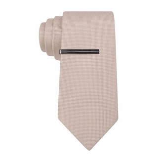Jf J.Ferrar JF  Basket Solid Slim Tie
