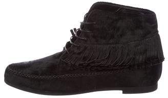 Jenni Kayne Ponyhair Ankle Boots