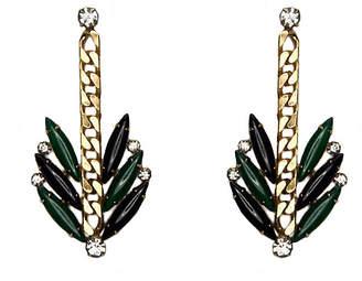 One Kings Lane Maeve Ivy Earrings