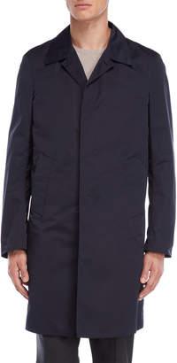 Jil Sander Dark Blue Trench Coat