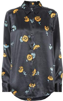 Equipment Essential floral silk shirt