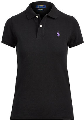 Polo Ralph Lauren Skinny Fit Polo Shirt $85 thestylecure.com