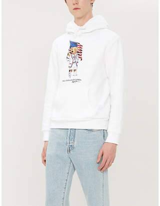 Polo Ralph Lauren Polo Bear graphic cotton-blend hoody