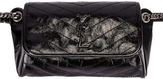Saint Laurent Monogramme Niki Body Bag in Black | FWRD