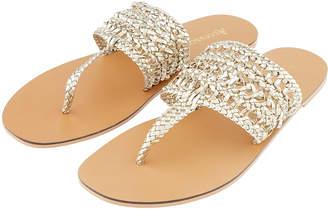Accessorize Kolkata Chappal Toe Sandals