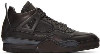 Hender Scheme Black Manual Industrial Products 10 High-Top Sneakers