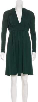 Balenciaga Knee-Length Long Sleeve Dress