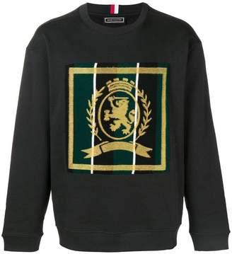 Tommy Hilfiger crest needle sweatshirt