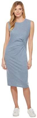 Splendid Tri-blend Jersey Pleat Dress Women's Dress