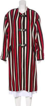 Isabel Marant Patterned Long Coat