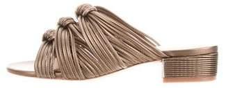 Rachel Zoe Leather Braided Sandals