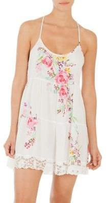 In Bloom Paradise Floral Chemise