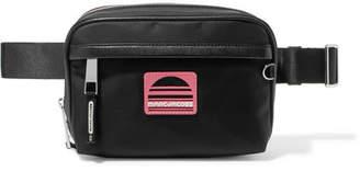 Marc Jacobs Leather-trimmed Shell Belt Bag - Black