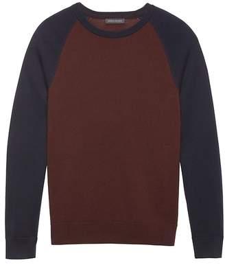 Banana Republic Extra-Fine Italian Merino Wool Raglan Sweater