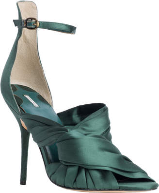 Max Studio gia : wrapped satin high heels