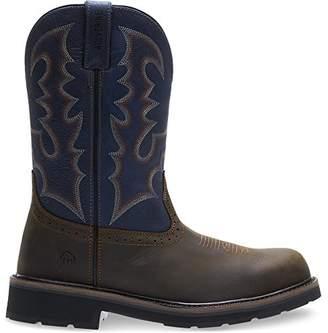 Wolverine Men's Rancher Round Soft-Toe Western Construction Boot