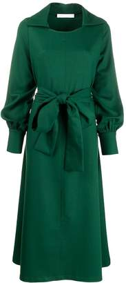 Societe Anonyme belted maxi dress