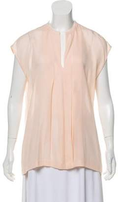 Vince Pleated Sleeveless Blouse w/ Tags