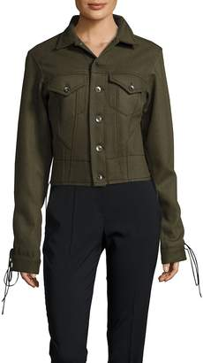 Haider Ackermann Women's Wool Lace-Up Jacket