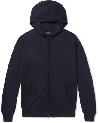 Loro Piana Portland Cashmere And Silk-Blend Zip-Up Hoodie