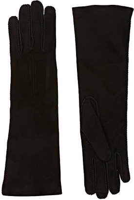 Barneys New York Women's Whipstitched Suede Gloves $350 thestylecure.com