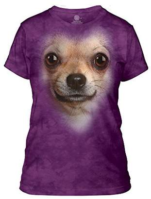 The Mountain Chihuahua Face Adult Woman's T-Shirt