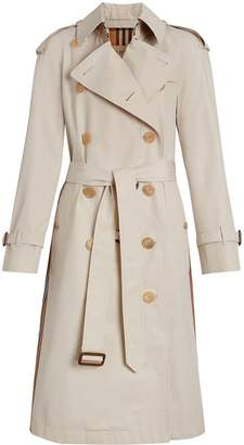 Burberry Heritage Ribbon Cotton Gabardine Trench Coat