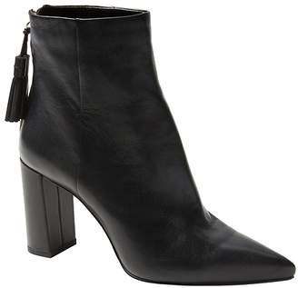 Banana Republic Tassel Zip High-Heel Ankle Boot