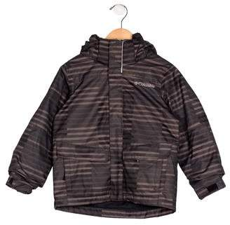 Columbia Boys' Hooded Striped Jacket