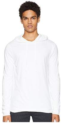 Vince Men's Cotton Double Layer Pullover Hoodie