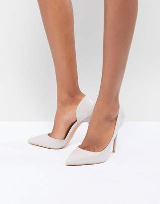 True Decadence Patent Cut Out Pumps