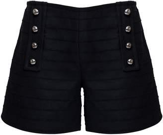 Rumour London - ELLE Wool & Cashmere Shorts